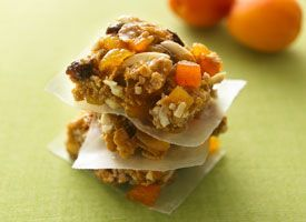 Apricot-Almond Energy Bars