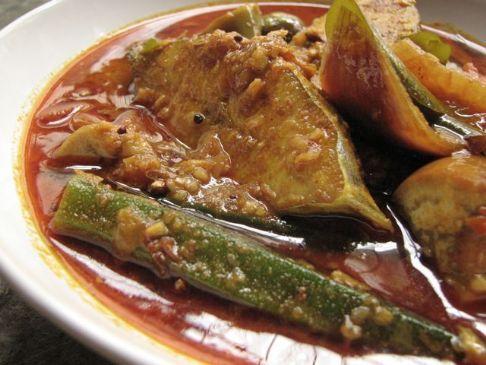 Nasi Kandar Fish Curry