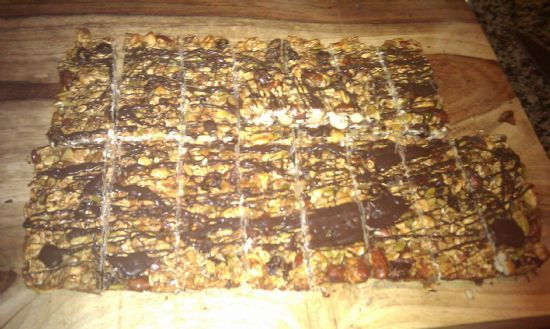 Hit the Trail Mix Healthy Bars