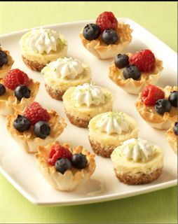 Lemon Berry Tartlets