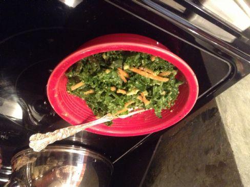 Cornie's Kitchen Kale & Avocado Salad