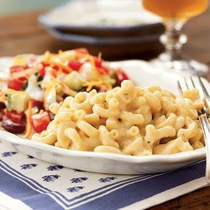 Betty's Creamy Cooktop Macaroni and Cheese Recipe