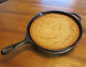 Masa Harina Cornbread with Sour Cream