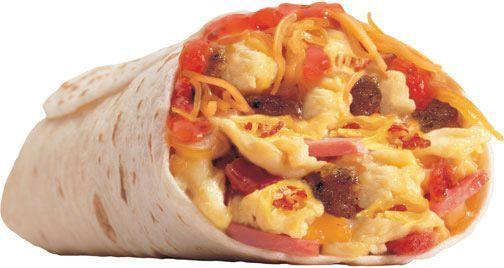 Fat Breakfast Burrito