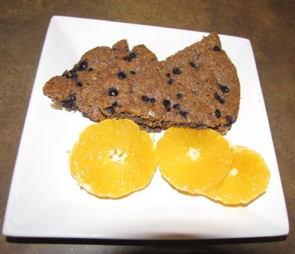 Blueberry Flax Seed Pie