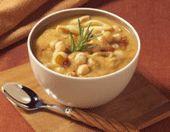 Tuscan Garbanzo Bean  Soup (Bush Beans)