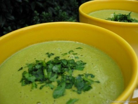 Vegan Cream Of Spinach Soup!