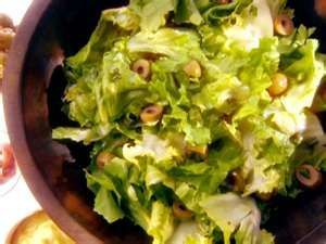 Green Salad with Anchovy Dressing
