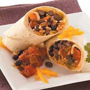 Bean & Rice Burrito Filling