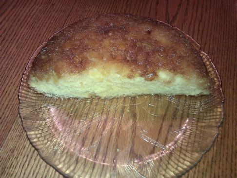 Sugar Free Pineapple Upside-Down Cake