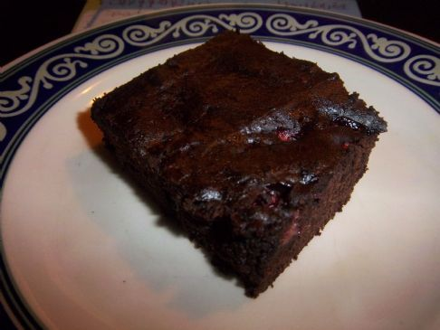 Ghirardelli Pumpkin Strawberry Brownies