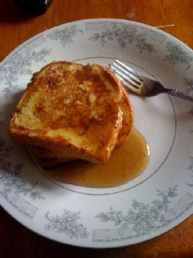 Pancake Batter French Toast