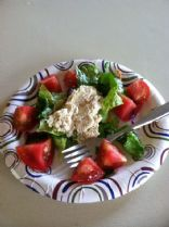 Abacore White Tuna Lettuce tomatoes