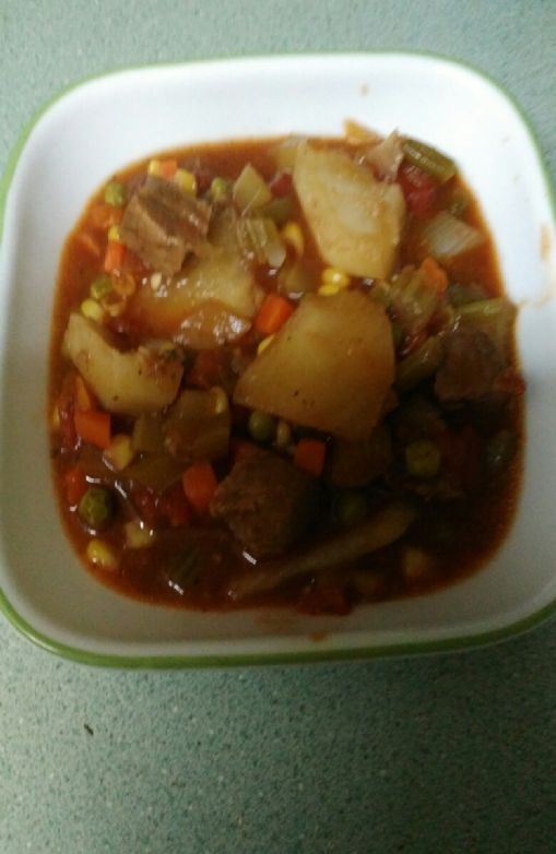 Frs' Slow- cooker Beef Stew