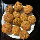 Cornmeal Sausage Muffins