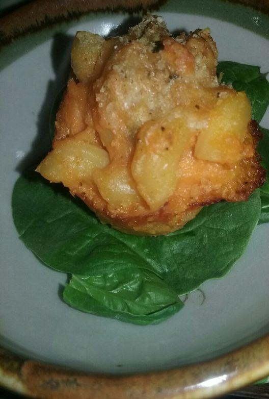 Hidden Veggie Mac & Cheese Bites