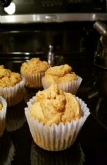 Low calorie vegan pumpkin muffins