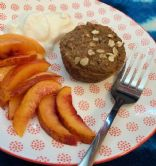 My #%! Raisin Bran Muffins with Carrot and Applesauce