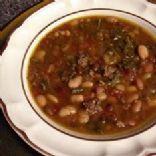 15 Bean Soup with Polish Sausage