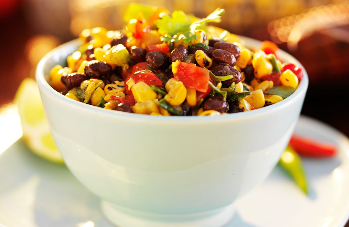 15-Minute Black Bean and Corn Salsa