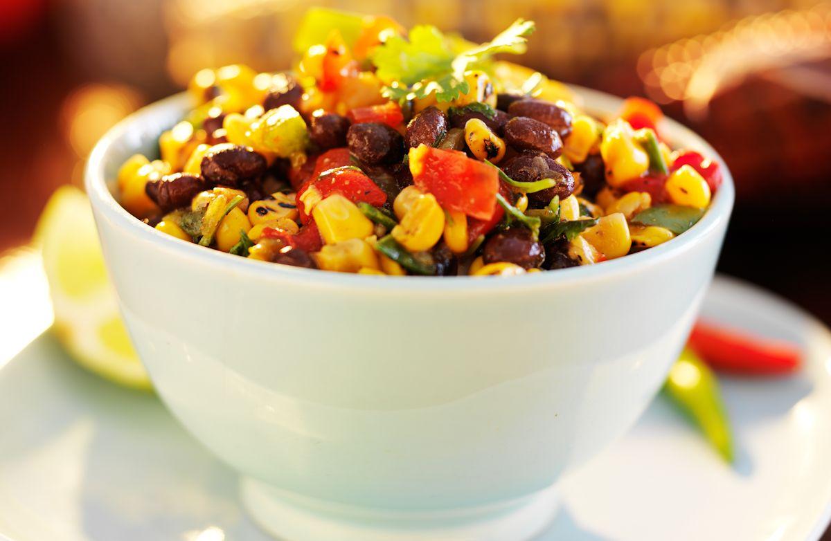 15-Minute Black Bean and Corn Salsa