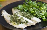 15-Minute Fish with Parsley Pesto