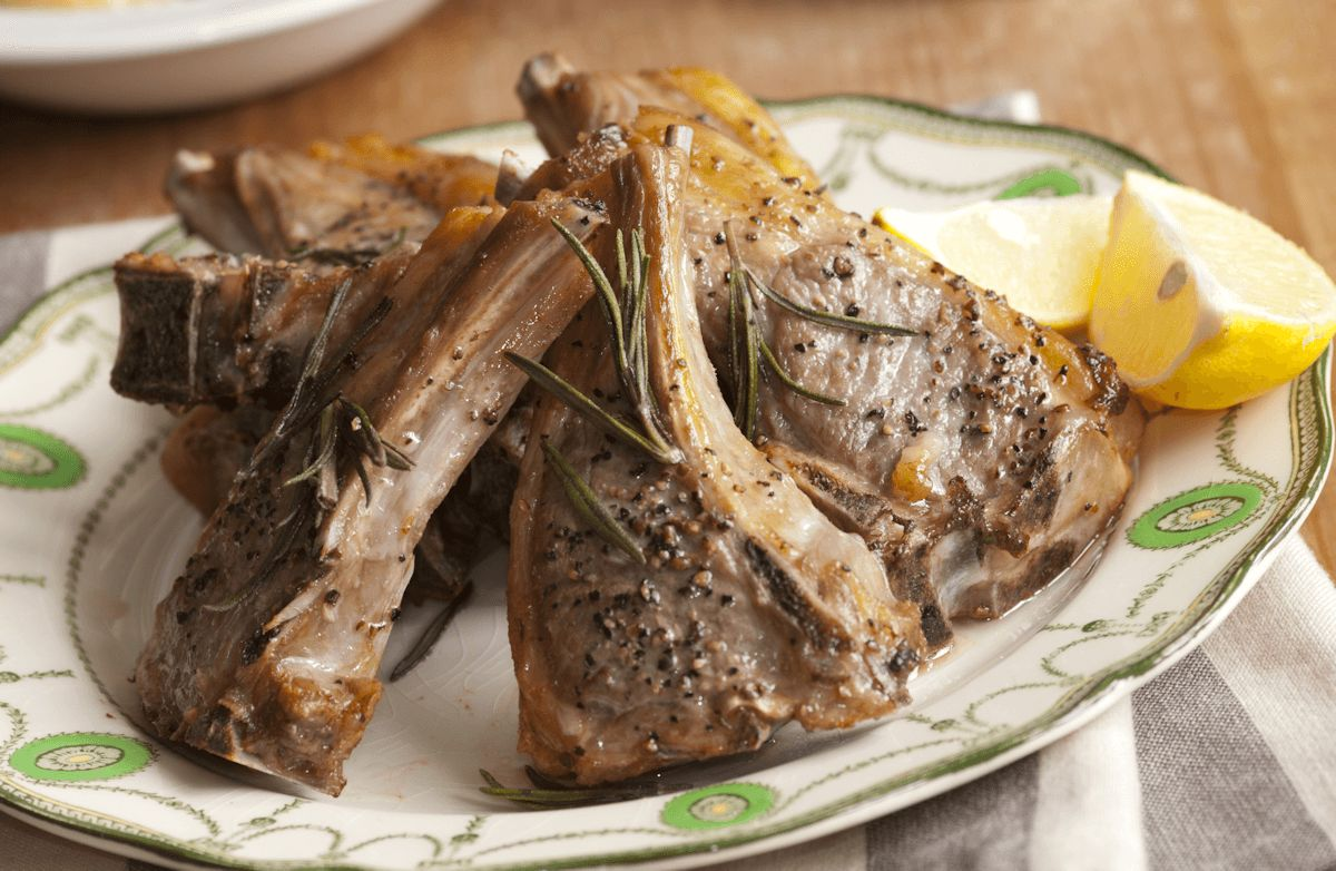 15-Minute Rosemary Lamb Chops