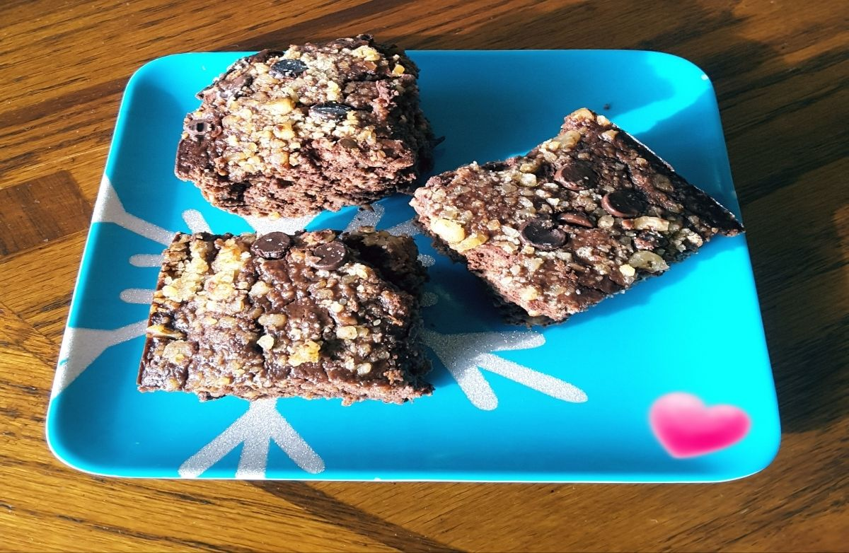PARISGRL7'S Black Bean & Oats Protein Brownies