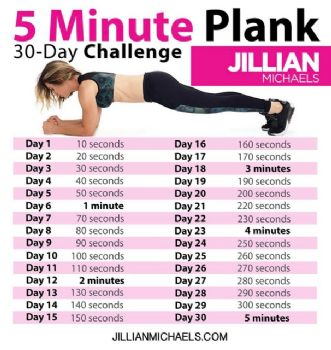 Stupendous image with regard to printable 30 day plank challenge