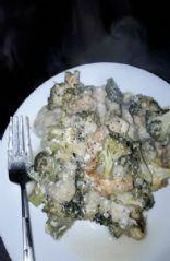 Easy Chicken,  Pasta,  Broccoli Bake