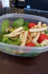 Vegan Chik'n Garden Salad