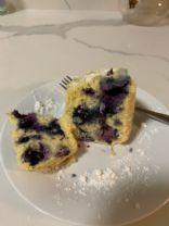 Keto Connect Blueberry Mug Cake