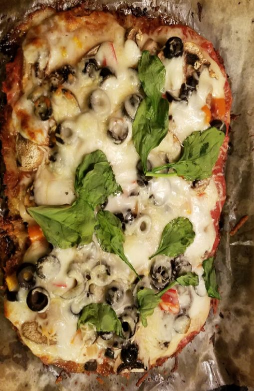 Bariatric Eating--Chicken Crust Pizza