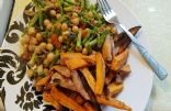 Garbanzo bean with veggies