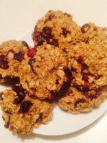 Cranberries Oatmeal cookies