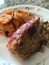 Zucchini meatloaf (Chicken - GF)
