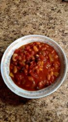 3 Bean Veggie Chili