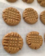 Gluten Free 3 Ingredient Peanut Butter Cookies