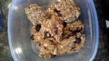 3 Ingredient Snack- Blueberries, Oats & Blueberries