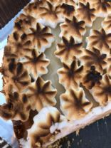 Key lemon pie with Meringue