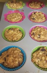Apple Oat Greek Yogurt Muffins