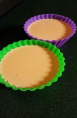 Orange cream jello cups