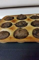 Chocolate Pumpkin Muffins