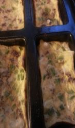 Mini omlet loaf