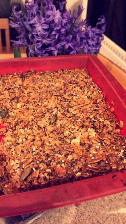 4 Seed Flapjacks