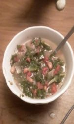 Turkey and vegetable chili verde