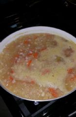 Navy Bean and Ham Soup