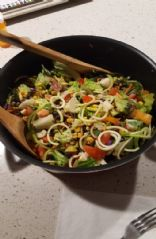 BLT Salad w/Black Beans & Corn