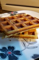 Low carb Cream Cheese Waffle