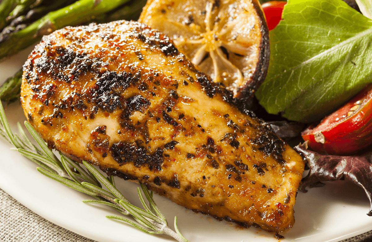5-Ingredient Grilled Rosemary Chicken Breast